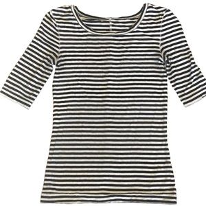 Free People Short Sleeve Striped Top Size small